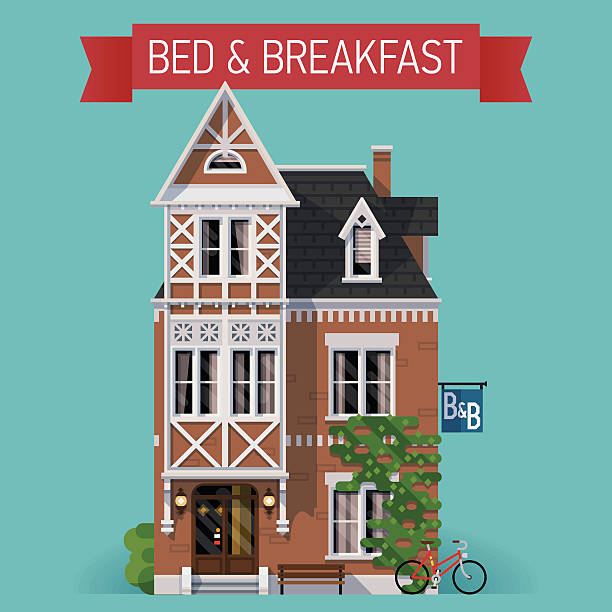 Best Bed And Breakfast Illustrations, Royalty.