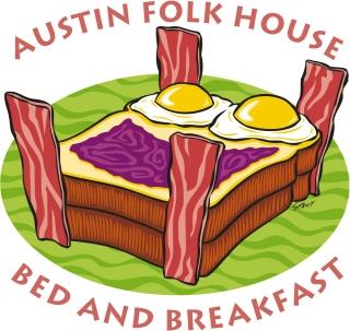 Austin Folk House Bed and Breakfast Hotel, near the University of Texas.
