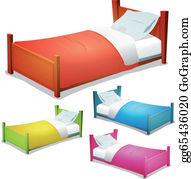 Bed Sheets Clip Art.