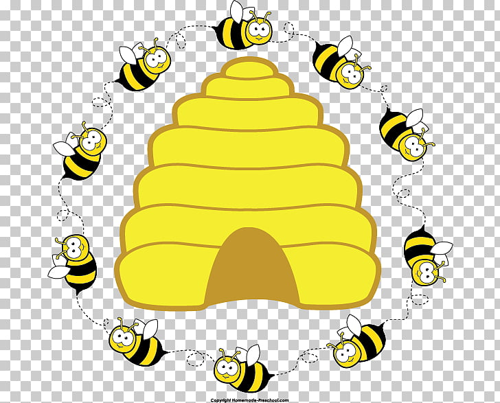 Beehive Honeycomb , Beehive s Flowers PNG clipart.