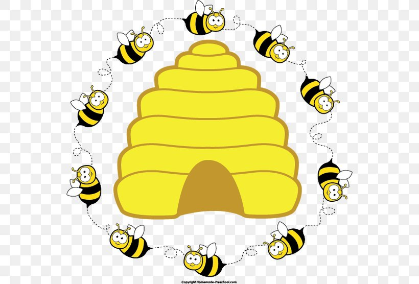 Beehive Honey Bee Clip Art, PNG, 560x556px, Bee, Anthophora.