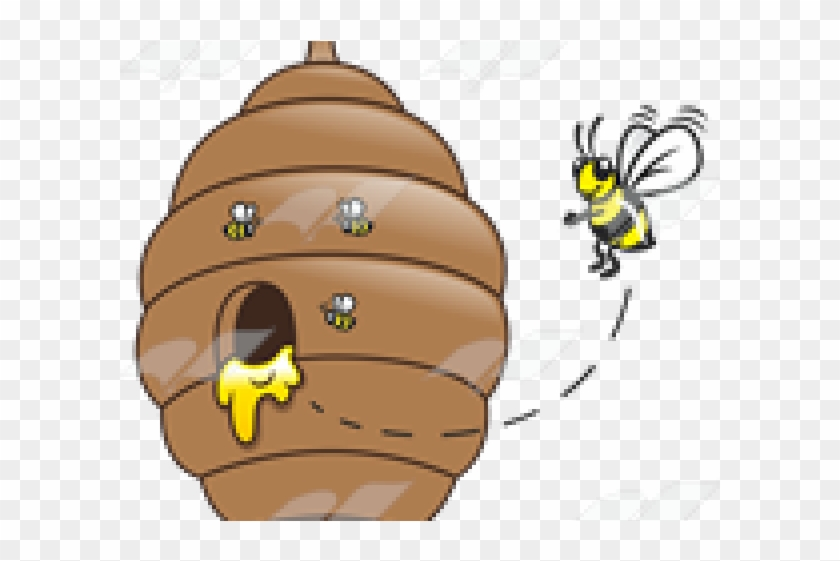 Honey Clipart Bee Beehive.