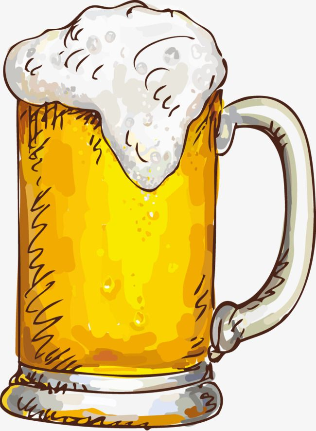 A Cup Of Beer, Cup Clipart, Beer Clipart, Beer PNG.