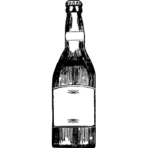Beer Bottle clipart, cliparts of Beer Bottle free download (wmf, eps.