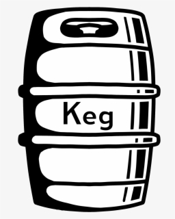Free Keg Clip Art with No Background.