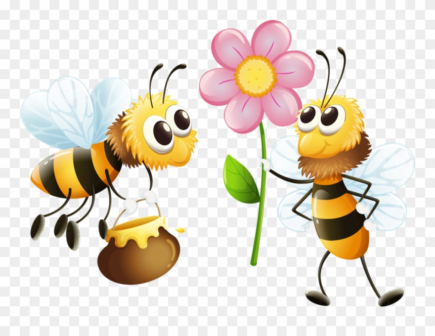 Bee Clipart, Bees And Wasps, Bee Farm, Buzz Bee, Bee.