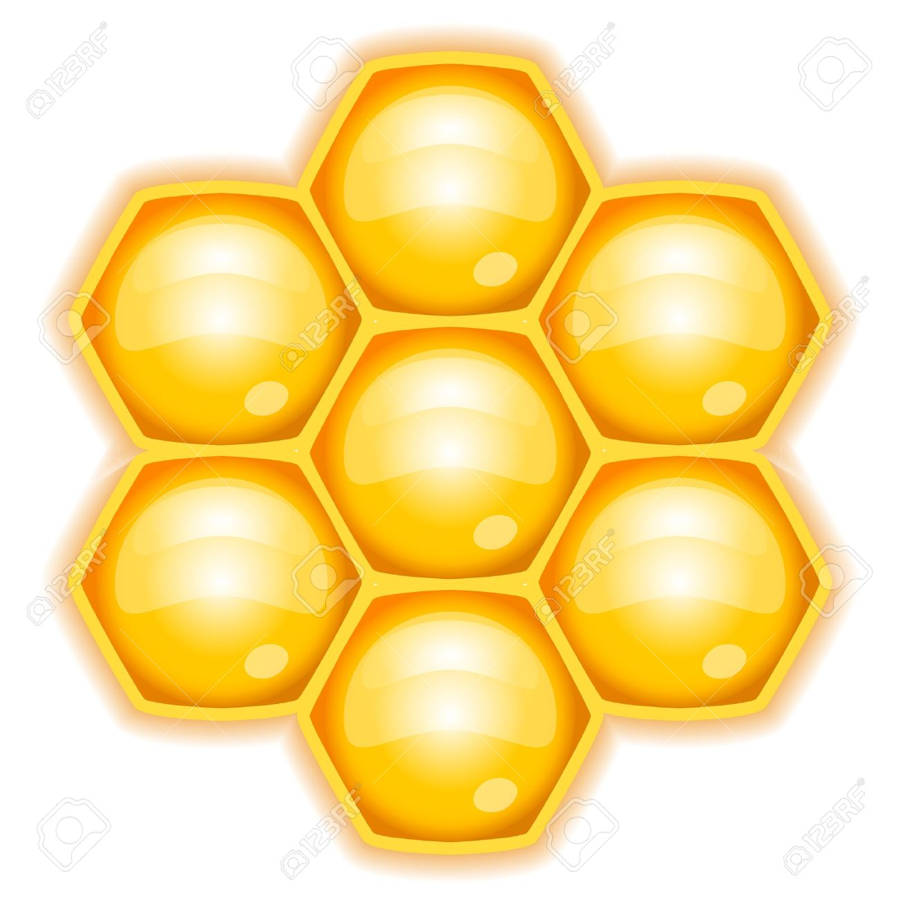 Illustration Of Honeycomb Royalty Free Cliparts, Vectors, And.