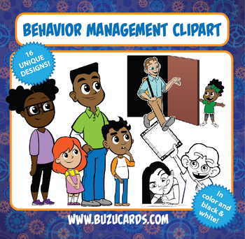 Behavior Management Clipart.