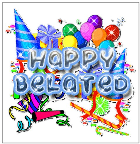 Belated birthday clipart 6 » Clipart Station.