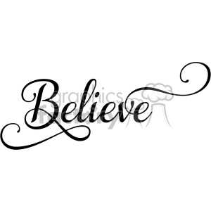 believe typography svg eps clip art clipart. Royalty.