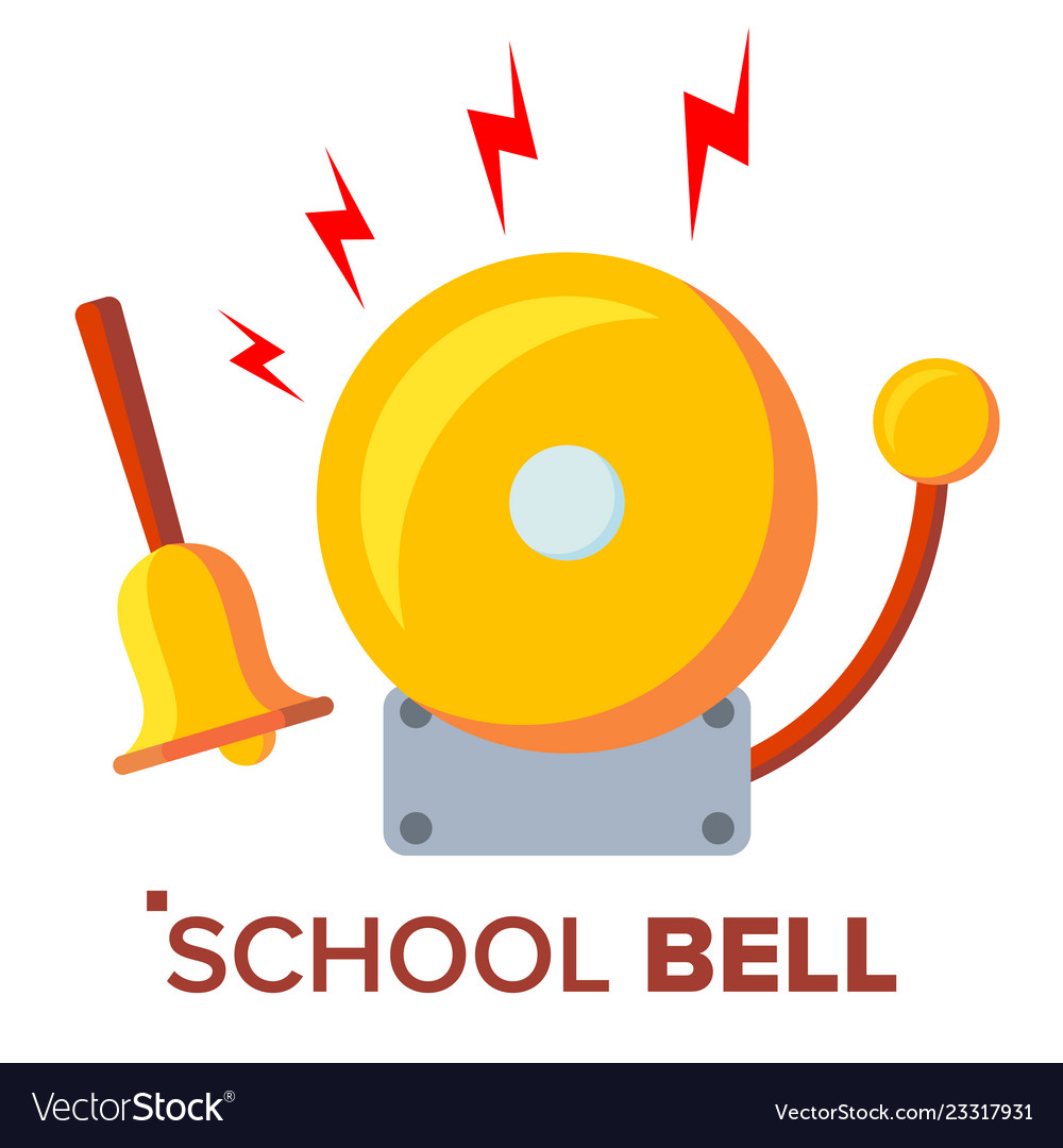 School bell ring ringing classic electric.