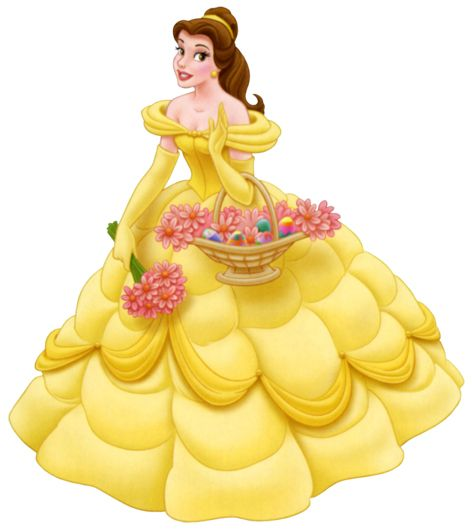 This is best Princess Clipart #10929 Disney Princess Belle Cartoon.