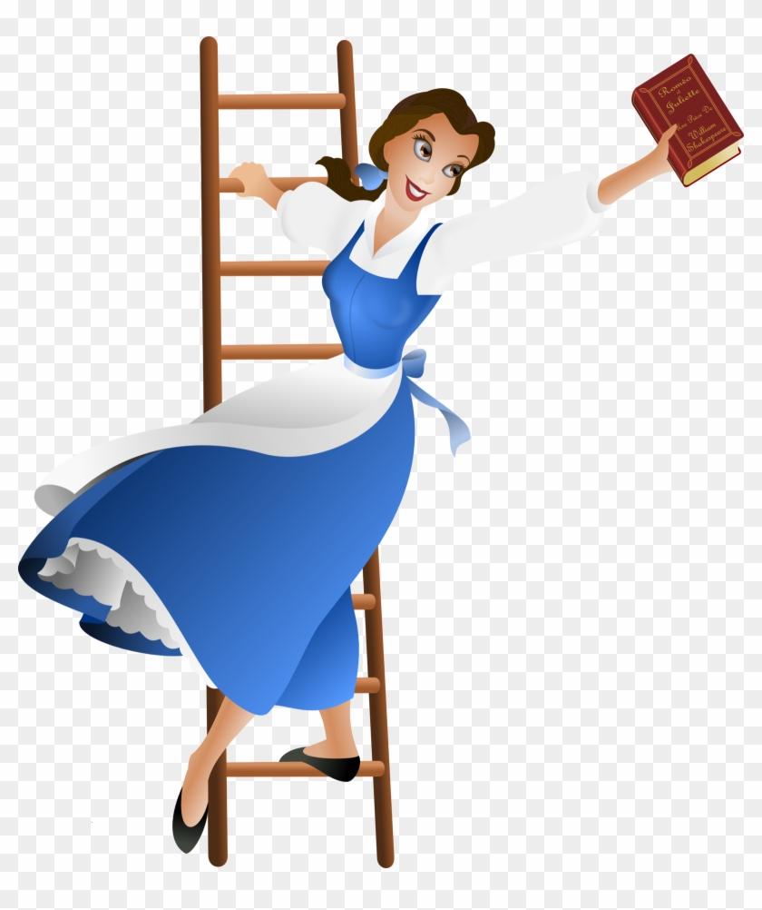 Blue Dress Clipart Belle.