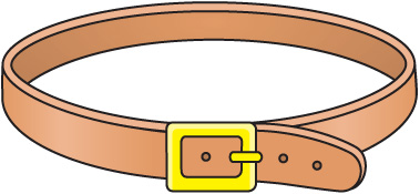 Belt Buckle Clip Art.