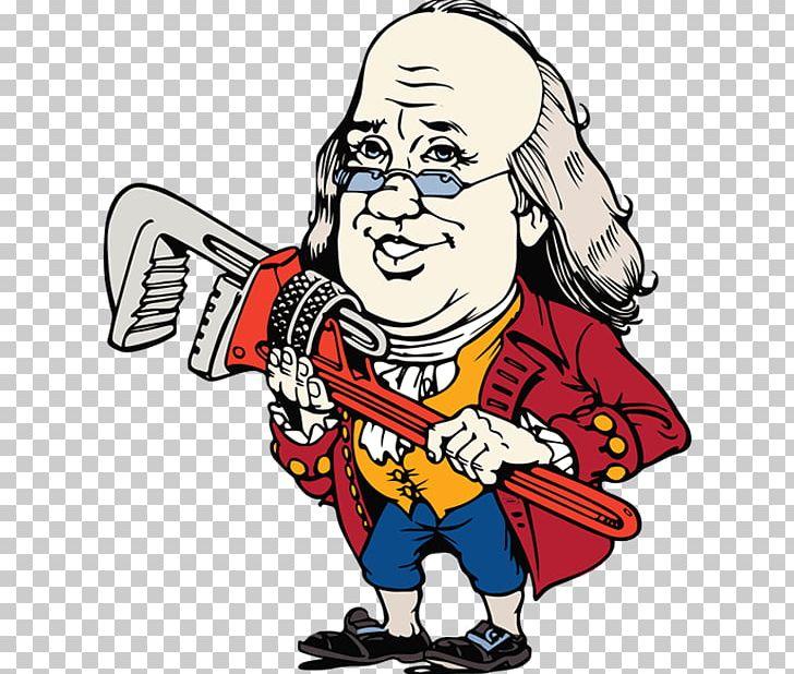 Benjamin Franklin Plumbing Plumber Drain Cleaners PNG.