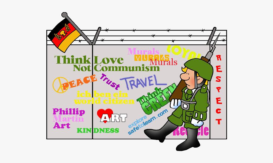 Berlin Wall Clip Art , Transparent Cartoon, Free Cliparts.