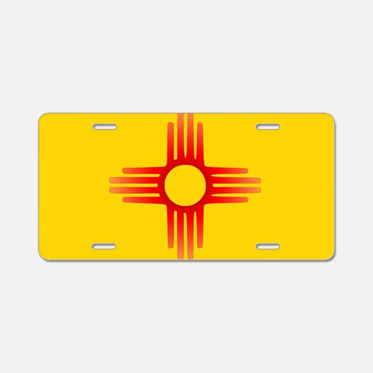 Zia License Plates.