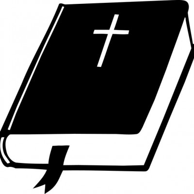 Black clipart bible, Black bible Transparent FREE for.