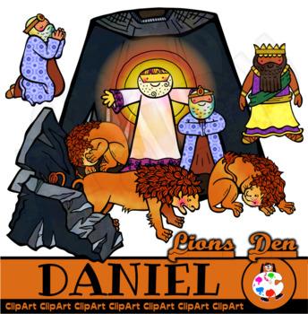 Daniel in the Lions Den.