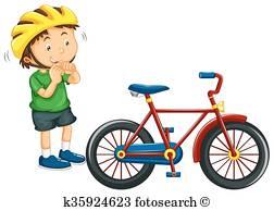 Bike Helmet Clip Art Vectors.