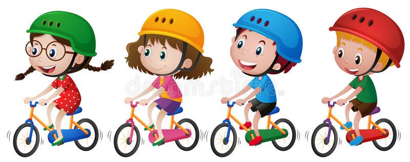 Bike Helmet Stock Illustrations.