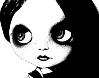 big eye doll face clipart png clip art Digital Image Download digi.