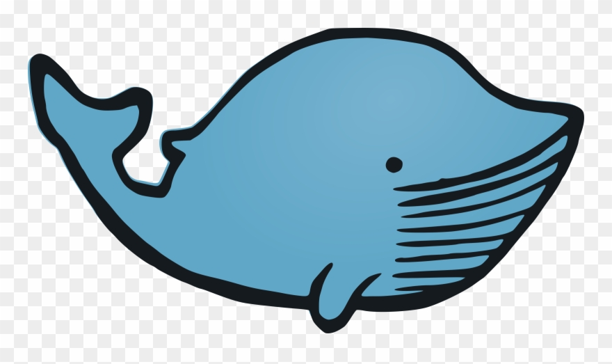 Whale Vector Clipart Image.