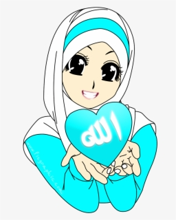 Free Hijab Clip Art with No Background.