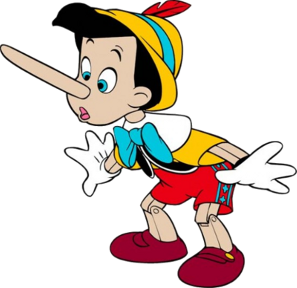 Pinocchio Sticker.