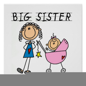 Big Sister Little Brother Clipart.