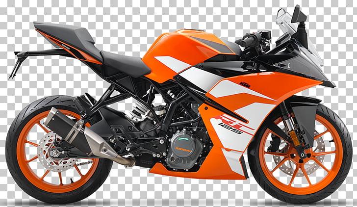 KTM 125 FRR Motorcycle Sport bike KTM RC 390, long design.