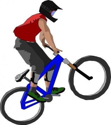 Free Bikers Clipart and Vector Graphics.