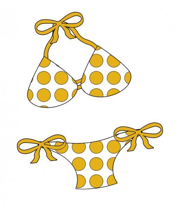 bikini clip art.