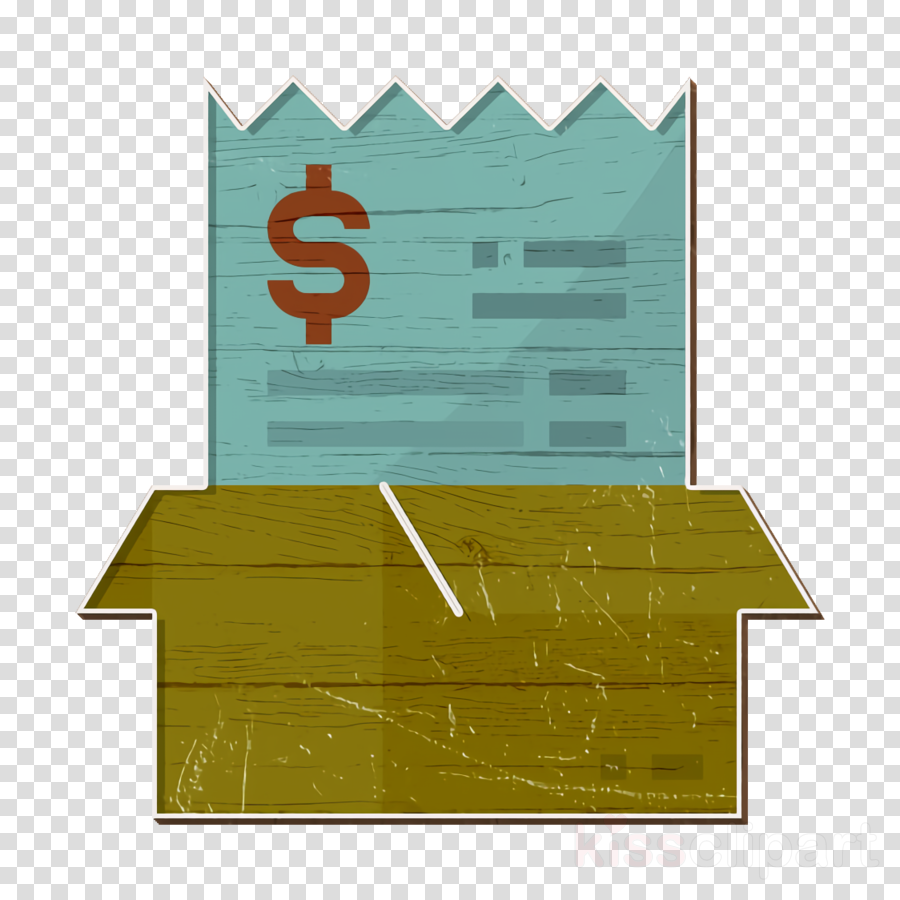 Box icon Bill And Payment icon Bill icon clipart.