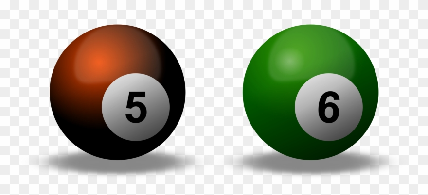 Billiard Ball Clipart Svg.