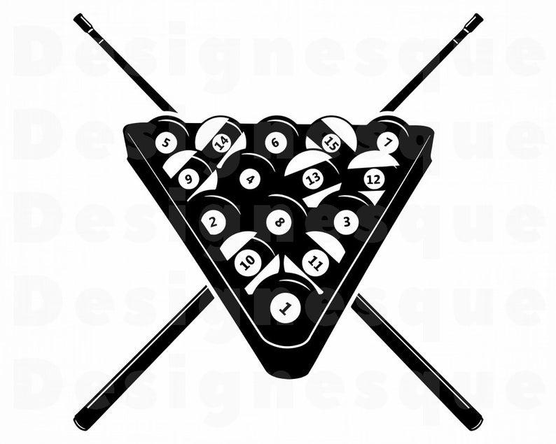 Billiards Svg #3, Snooker Svg, Pool, Billiards Clipart, Billiards Files for  Cricut, Billiards Cut Files For Silhouette, Dxf, Png, Eps Vector.