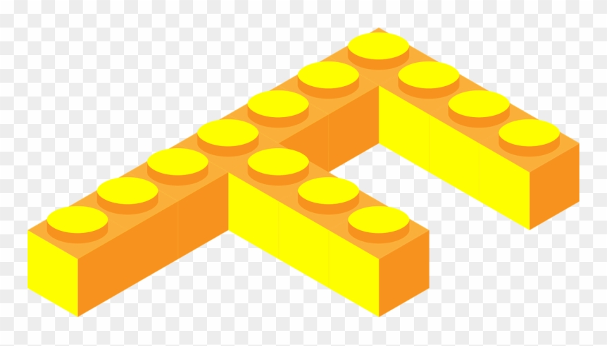 Lego Letter F.