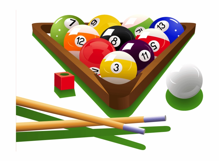 Billiard Png Hd Image Pool Game Clip Art.