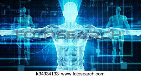 Stock Photo of Bioscience k34934133.