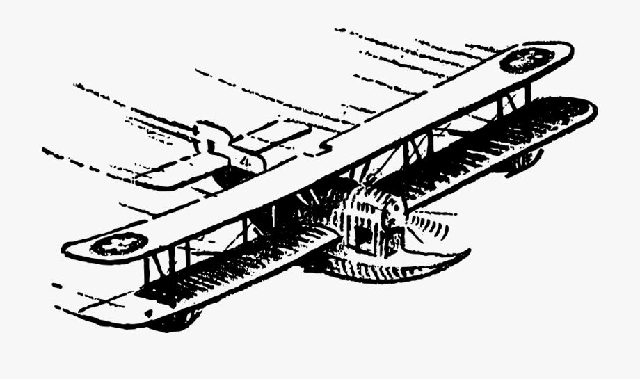 Biplane Clipart Glider Plane.