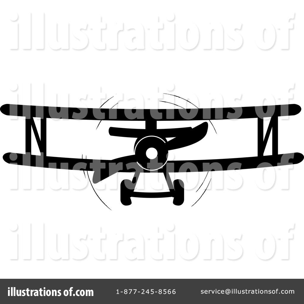 Biplane Clipart #212275.