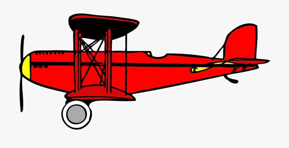 Airplane Clipart Biplane #11822.