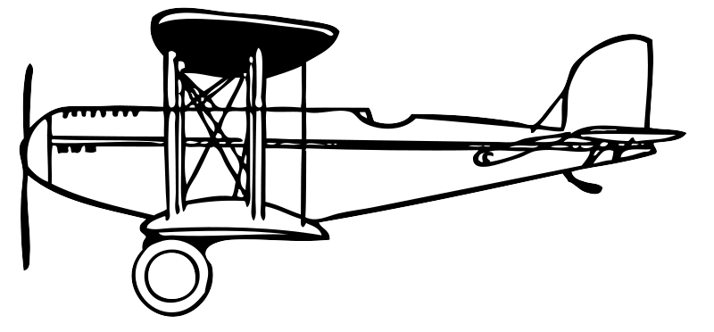 Free Clipart Biplane Johnny Automatic Unusual Clip Art Outstanding.