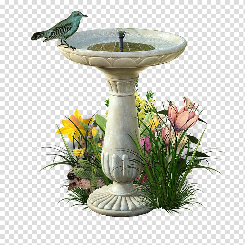 Smart Solar Portsmouth Solar Bird Bath Fountain, 20623M01.