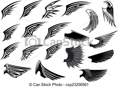 Bird wings Illustrations and Clip Art. 51,306 Bird wings royalty.
