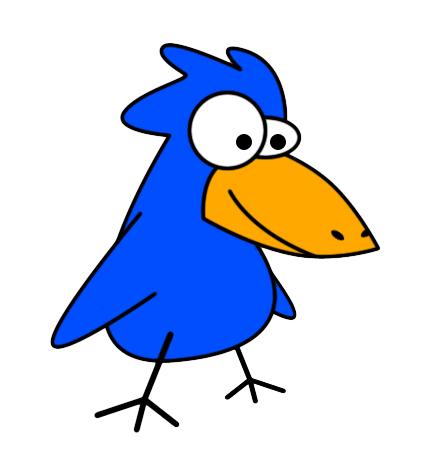 Big Bird Clipart.