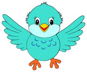 Birdie Clip Art.