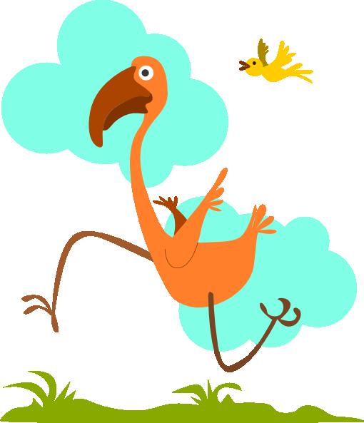 Run Birdie Run Clip Art at Clker.com.