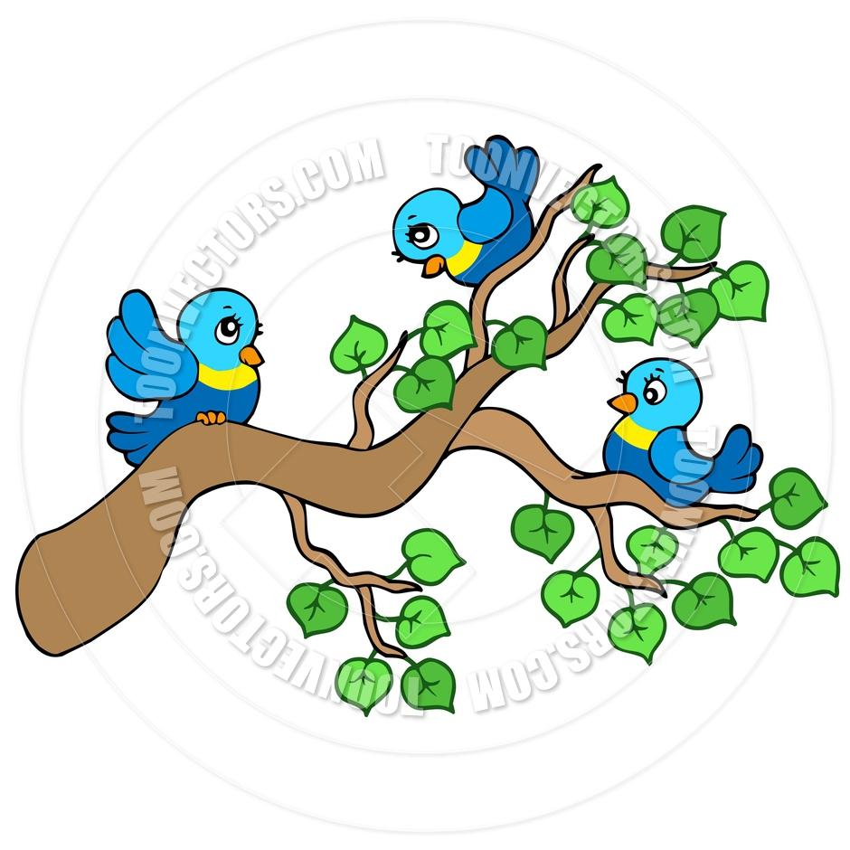 Showing post & media for Birds sitting cartoon.