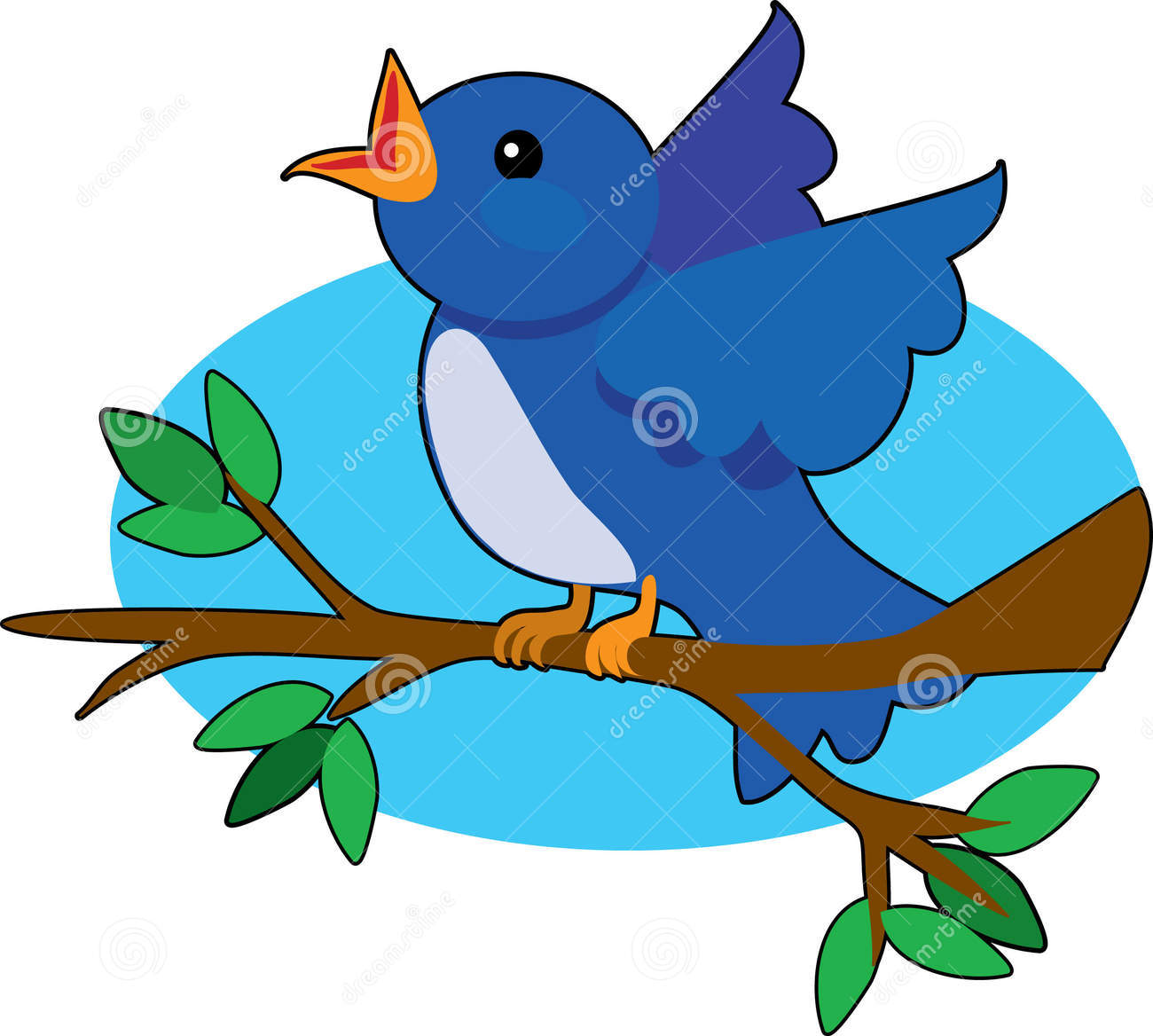 Showing post & media for Cartoon tree with bird clip art.